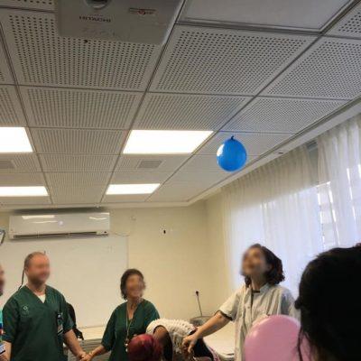 תוכנית פיתוח חוסן למניעת שחיקה בעבודה בית -החולים שיבא -תל השומר, משחררים אנדורפינים באמצעות צחוק