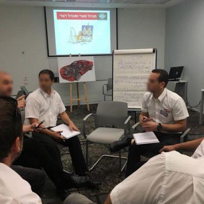 תוכנית פיתוח מנהלים בארגון עסקי