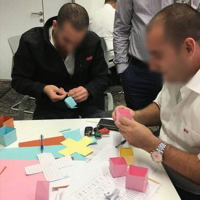 תוכנית פיתוח מנהלים בארגון עסקי- תחרות בין קבוצות. הקמת מפעל מטרושקות